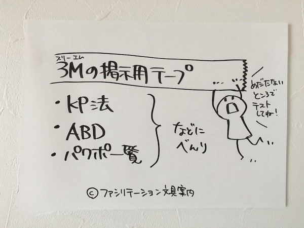 3M 掲示用テープ特徴